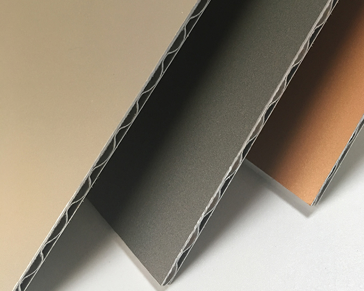 A2 FR Corrugated Aluminum Composite Panel