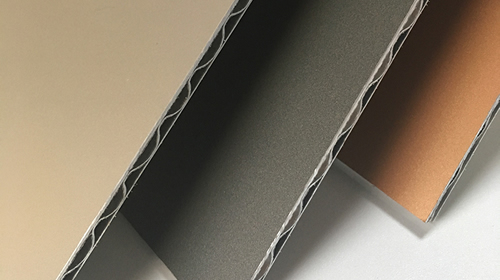 A2 FR Corrugated Aluminum Composite Panel 01