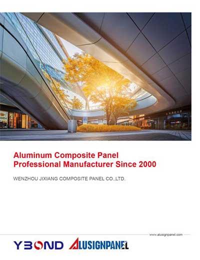 1 Page , Catelogue,Aluminum Composite Panel,ACP Manufacturer