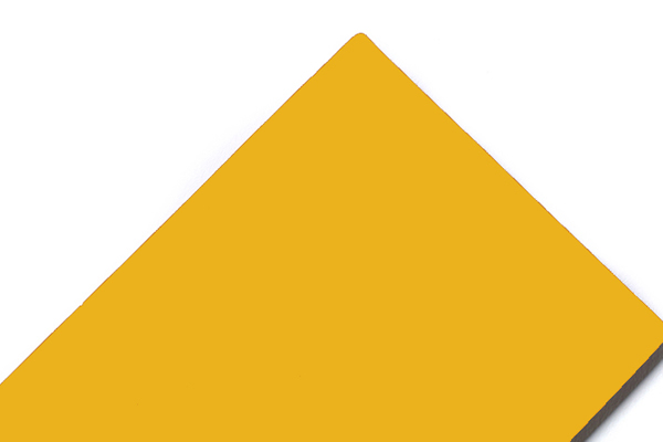 SJ-8037 Pure Yellow Aluminum Composite Panel